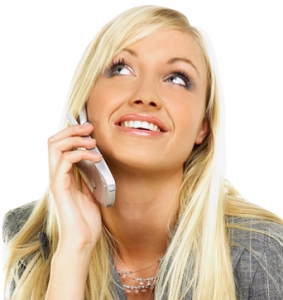 PokeTalk Woman on Phone