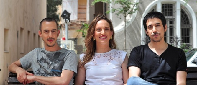 Hello Doctor co-founders, from left, Ziv Meltzer, Maayan Cohen and Eran Keisar.