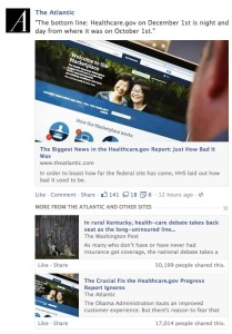 Facebook - Related articles example