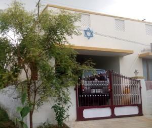 Jewish star in Zion neighborhood